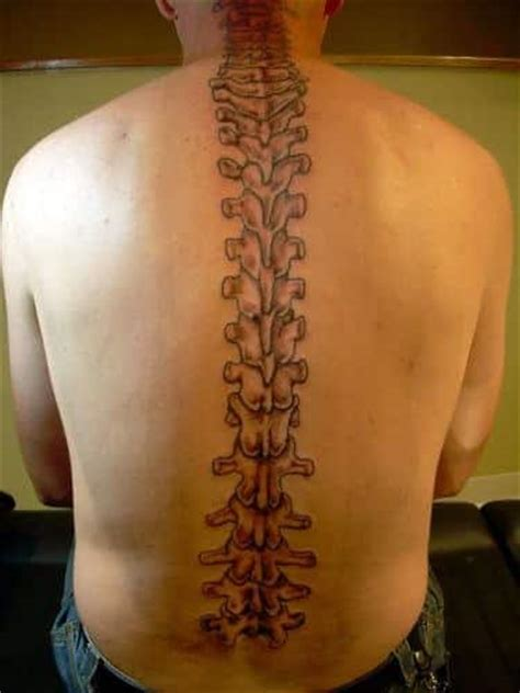 spine tattoos for men ideas and designs for guys