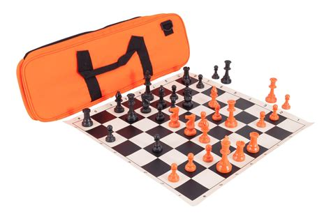 Themed Chess Sets by Halloween Deluxe Chess Set Combination Single Weighted Regulation Pieces Vinyl Chess Board