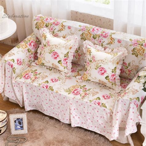 floral print furniture sofa cover cushion home textile