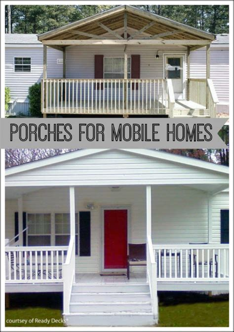 Add Curb Appeal - porch designs for mobile homes mobile home porches porch ideas for mobile homes