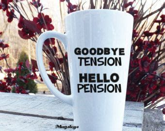 goodbye tension hello pension retirement gift for retirement adventure journal to record travel and activities with table of contents and numbered page books teaching pension plan and latte on