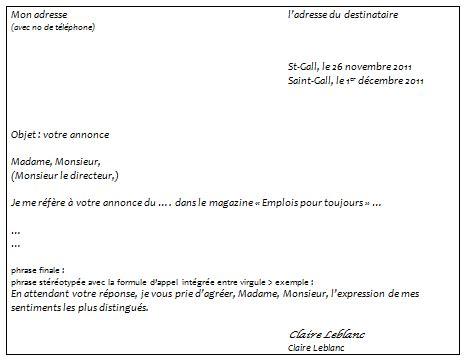Prã Sentation Lettre Officielle Ecrire Une Lettre Officielle O 232 Mio