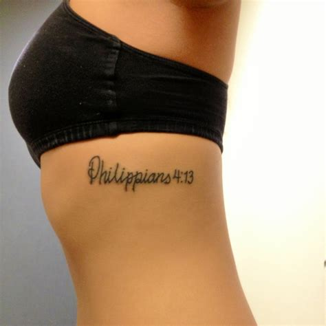 tattoo on thigh in bible my tattoo phillipians 4 13 quot i can do all things through