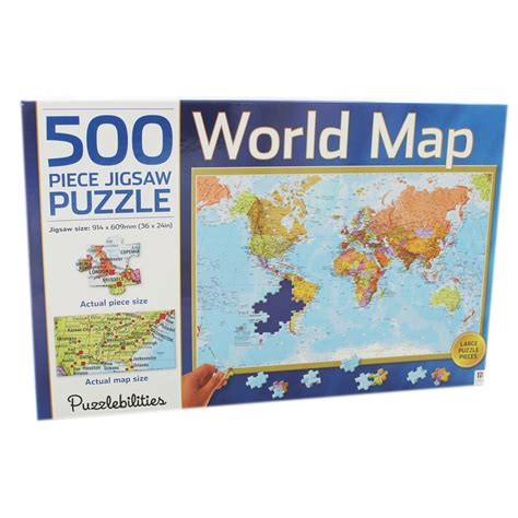 printable jigsaw map of the world world map jigsaw puzzle 500 piece jigsaw puzzles at