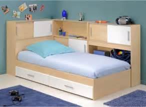 Snoop single bed frame with side storage