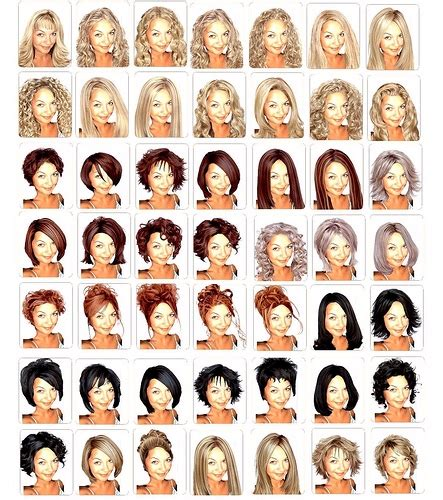 list of hairstyles and their names name of hairstyles female hairstyles