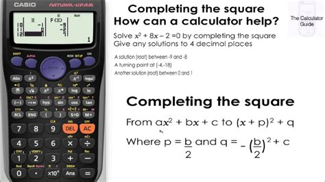 Calculator X Squared | calculator can help you to complete the square find out