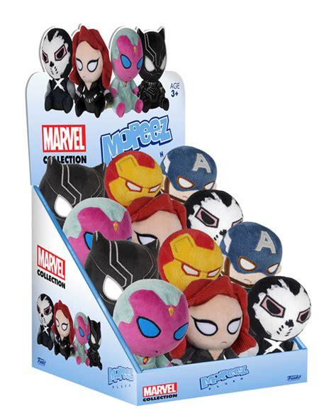 Kaos Funko funko civil war mopeez plush toys up for order marvel
