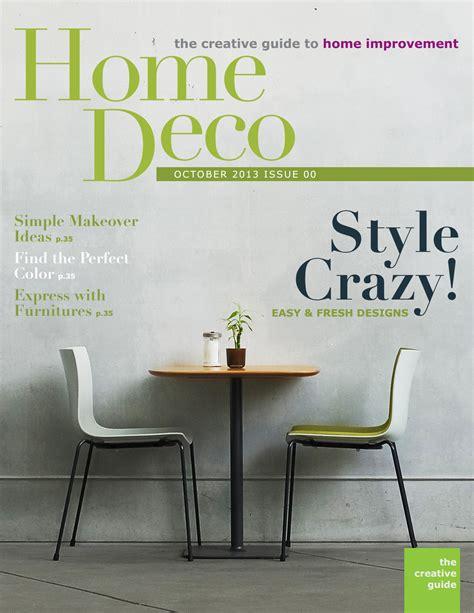 decoracion hogar revista portada de revista magazine para decoracion hogar