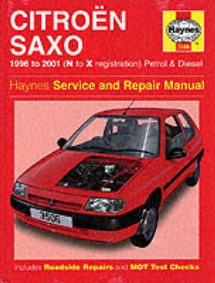 Cd Manual Book Alpard Repair Manual Citroen Saxo Service And Repair Manual By Spencer Drayton