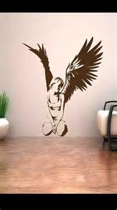 Wall Decals Stickers fallen angel heaven good wing girl wall art stickers decal