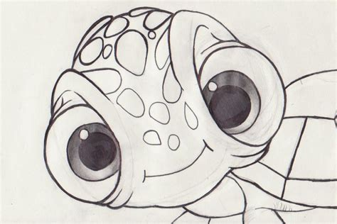 the gallery for gt crush finding nemo coloring pages