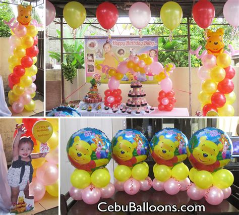 Winnie The Pooh Decorations by Pooh Friends Cebu Balloons And Supplies