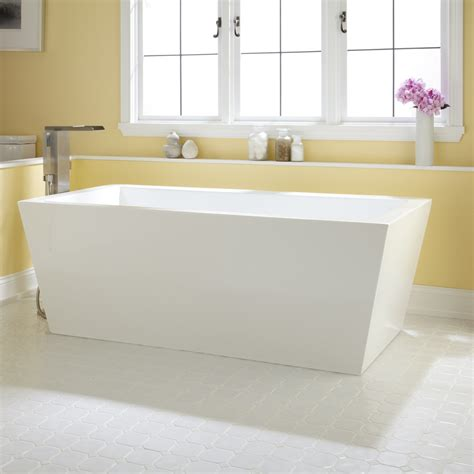bathrooms with freestanding tubs eaton acrylic freestanding tub bathroom