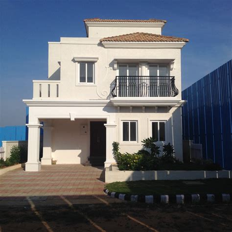 Villa College Hyderabad Mba Fees by Ready To Move Villas Near Srisailam Highway Shamshabad