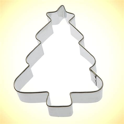 christmas tree cookie cutter 3 25 in cookie cutter