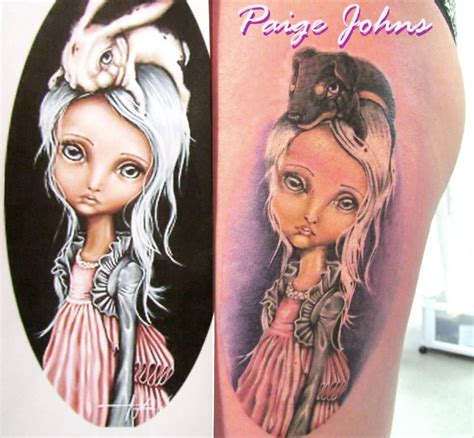 couture tattoo wrona bunny couture i just had this beautiful