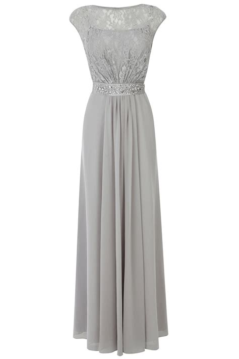 Dress Maxy Grey coast lori lace maxi dress in gray lyst