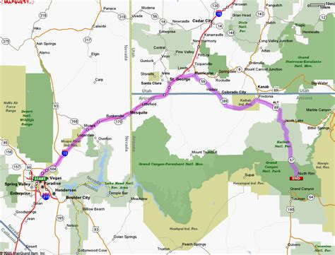 grand map from las vegas grand tours monument valley tours and bryce