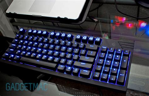 Keyboard Cooler Master Quickfire Tk Brown Switch White Led cooler master quickfire tk cherry mx blue mechanical gaming keyboard review gadgetmac