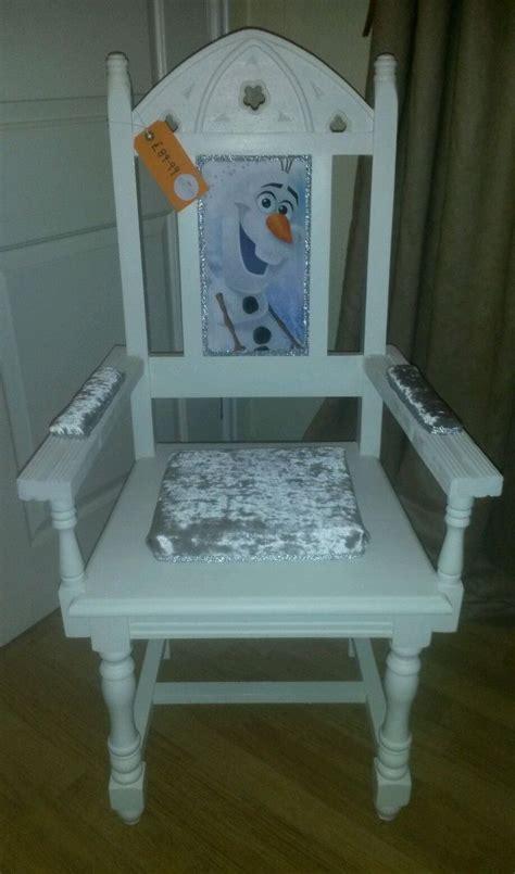 Olaf Chair by Frozen Throne Chair Olaf Ebay Furniture Ideas