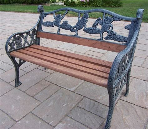 traditional garden bench lightweight mini frog garden bench traditional garden