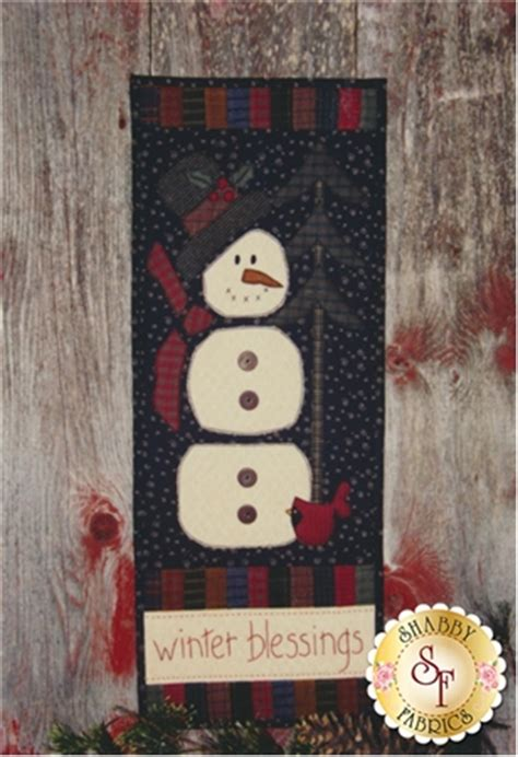 Backdoor Quilts by Back Door Quilt Series Winter Blessings Pattern