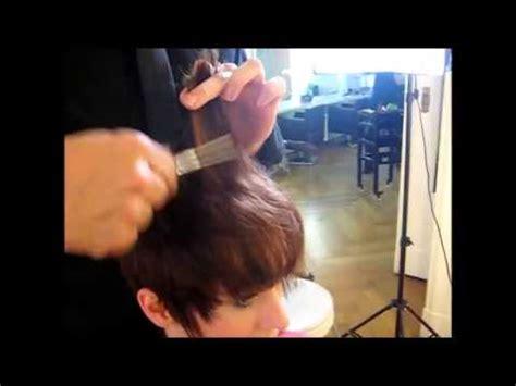 frauen kurzhaarschnitt trendiger short cut youtube