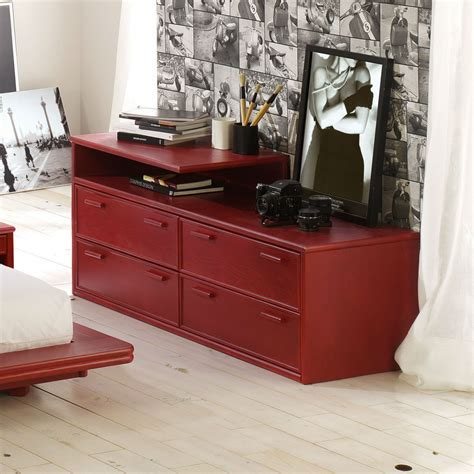 commode contemporaine chambre commode contemporaine en rotin brin d ouest