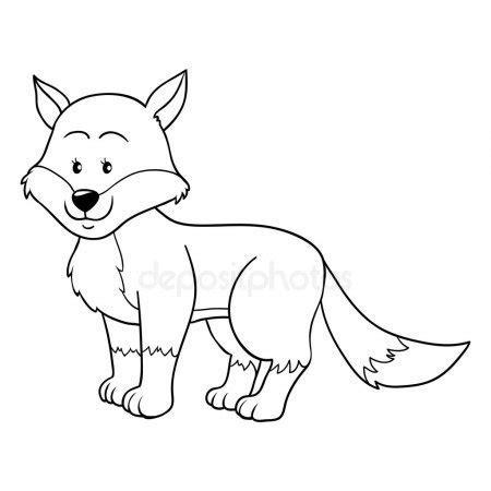 fox coloring book sz 237 nezå r 243 ka k 246 nyv â stock vektor 169 awatch2 48419001