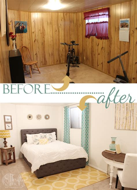 painting paneling in basement 7 stunning room reveals makeovers sand and sisal