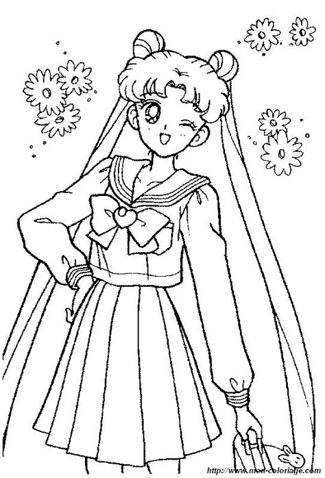 coloring pages of pretty dresses coloring manga page sailor moon pretty dress