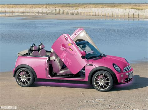 convertible cars for girls pink mini cooper convertible girly cars for female