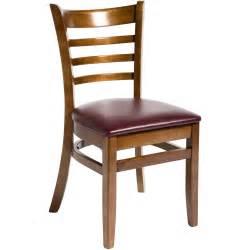 Restaurant Furniture Wood Ladder Back Restaurant Chair