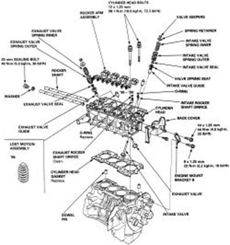 1999 daewoo nubira head bolt removal diagram repair guides engine mechanical cylinder head