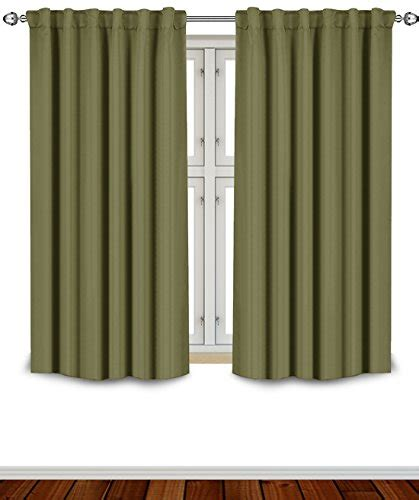 63 inch long curtains new blackout room darkening curtains window panel drapes 5