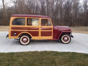 Jeep Station Wagon 1947 Willys Overland Jeep Station Wagon 463 L 134 Woody