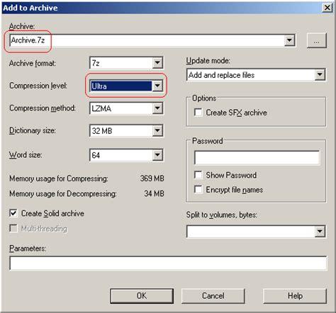 Compress Pdf Ubuntu Gui | archive set 7z compression level using gui in ubuntu