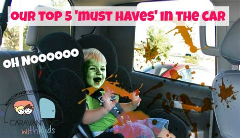 top 5 list of must have items for your home office top 5 must have items for the car travelling with kids