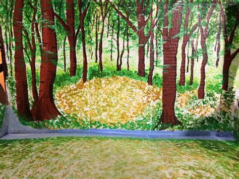 printable forest diorama backgrounds 15 best school projects anna kate images on pinterest