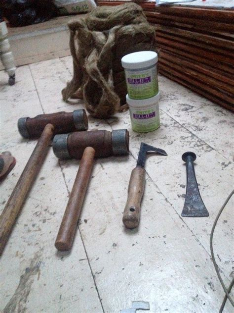 boat caulking tools caulking wooden boats to achieve a dry bilge