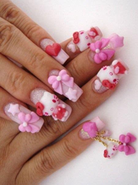 best 3d acrylic nail art design 40 latest 3d acrylic paint nail art design ideas