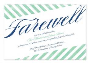 farewell invitation template myideasbedroom