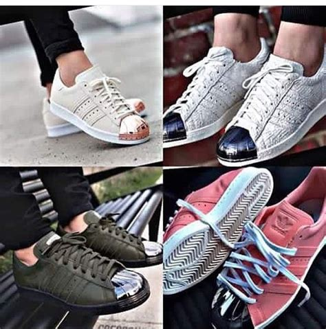 Adidas Superstar White Lis Gold Premum Import Hight Quality narf3map adidas superstar 80s dusty prices slashed