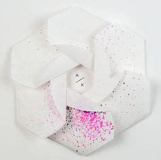 opening invitation origami style louis vuitton yayoi