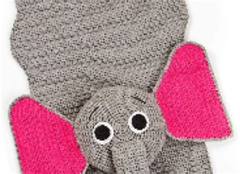 Elephant Rug Knitting Pattern by Free Pattern Your Toddler Will Relaxing On This