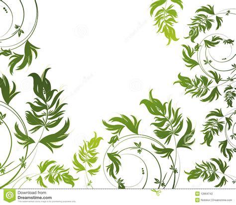 flower pattern on white background green floral pattern on white background stock photography
