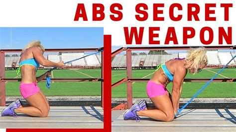 abs workout using resistance band flat stomach exercise