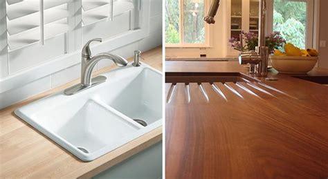 encimeras madera encimeras de madera para cocinas ventajas e