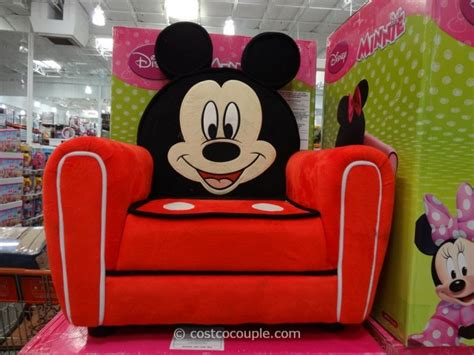 minnie mouse armchair costco disney mickey or minnie upholstered chair